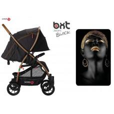 BXT JEANS BLACK ruote grandi - passeggino leggero, chiusura Lampo, traspirante full optional, Baciuzzi