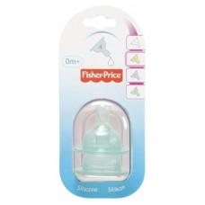 Fisher Price Unifamily Tettarelle in silicone -  Flusso regolabile, 2 pezzi