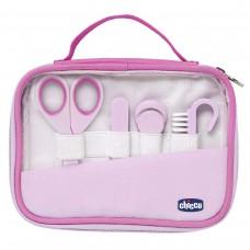 Chicco Igiene e Benessere Set Manicure Bambina, Rosa