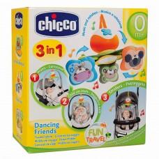 Chicco Gioco Passeggio Dancing Friends Giostrina Giostra Prima Infanzia 820, Multicolore