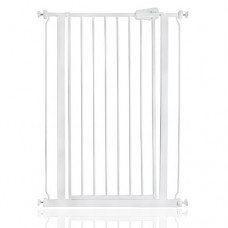 Baby Dan canceletto Pet Gate Extra Alto, Bianco
