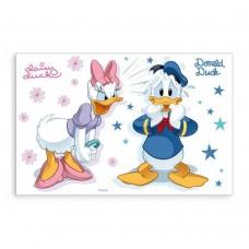B.B.S.- Tovaglietta Donald & Daisy, Multicolore