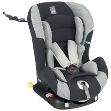 CAM Il mondo del bambino Seggiolino Auto Viaggiosicuro Isofix, Antracite/grigio