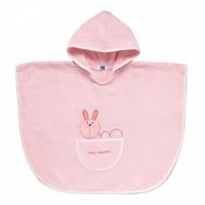 Accappatoio Poncho 12+ mesi Chicco Rosa - Coniglio