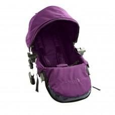 Baby JoggerCity Select Seconda Seduta con Adattatore, Telaio Silver, Amethyst