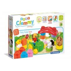 Clementoni Baby Clemmy Costruzioni Morbide - Happy Farm