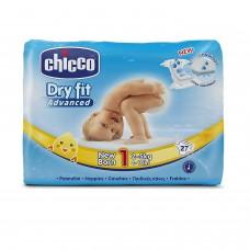 Chicco  Dry Fit Advance Pannolino Newborn, 27 Pezzi