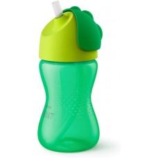 Philips  Tazza con Cannuccia verde