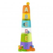 Chicco- Artsana-Gioco Torre con Palline