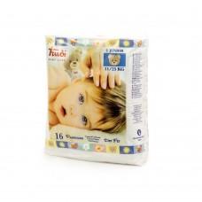Trudi Baby Dry Fit Pannolino Taglia Junior 11–25kg, 16pezzi, bianco