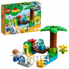 LEGO Duplo Jurassic World -  Lo zoo dei giganti gentili