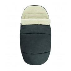 Bébé Confort Sacco Imbottito, Rivestito in Pile, Sacco Termico per Passeggino e Riduttore Seduta, Nomad Black