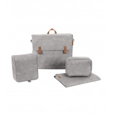 Bébé Confort Modern Bag Borsa Fasciatoio per Passeggino, Nomad Grey