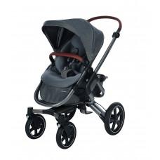 Bébé Confort Nova Passeggino Fronte Retro Reversibile, Compatto, 4 Ruote Ammortizzate, Sparkling Grey