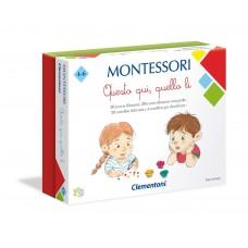 Clementoni - Montessori Questo Qui