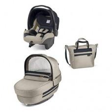 elegante Navetta Elite omologata auto, il seggiolino auto Primo Viaggio con la Borsa coordinata con materassino per il cambio