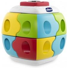 Chicco 2 in1 Q-Bricks, Multicolore