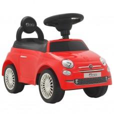 vidaXL Auto per Bambini Fiat 500 Rossa