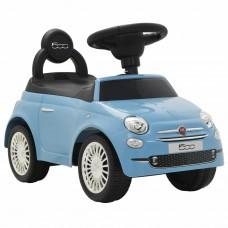 vidaXL Auto per Bambini Fiat 500 Blu