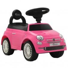 vidaXL Auto per Bambini Fiat 500 Rosa