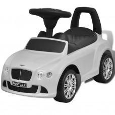 Bentley Macchina a Spinta Cavalcabile per Bambini Bianca