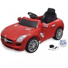 Macchina cavalcabile Mercedes Benz SLS AMG rossa 6 V con telecomando