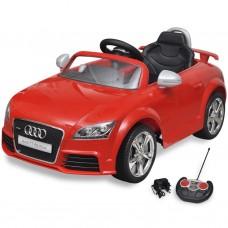 Audi TT RS Macchina cavalcabile telecomandata per bambini rossa
