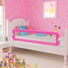 vidaXL Barriera di Sicurezza per Letto Bambino 150 x 42 cm Rosa
