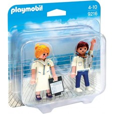 PLAYMOBIL DUO PACKS - COMANDANTE E HOSTESS NAVE