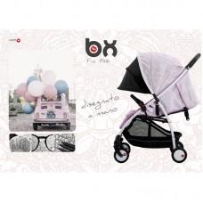 BACIUZZI BX Frà-Pink passeggino leggero, chiusura Lampo, traspirante full optional