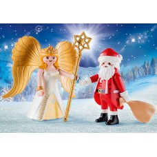 PLAYMOBIL Babbo Natale con Angelo