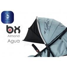 BX ALMOND AGUA  passeggino super leggero, chiusura Lampo, traspirante full optional,  BACIUZZI PLATINUM