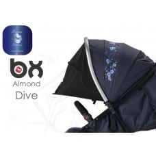 BX ALMOND DIVE passeggino super leggero, chiusura Lampo, traspirante full optional,  BACIUZZI PLATINUM