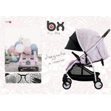 BX Frà-Pink passeggino leggero, chiusura Lampo, traspirante full optional, Baciuzzi