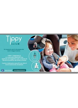TIPPY Smart Pad cuscino di sicurezza bluetooth anti-abbandono