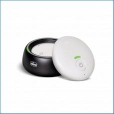 Chicco Baby Monitor Audio per Neonati e Bambini con Tecnologia DECT, Portata 300 m, Modalità Eco Intelligente e Attivazione Vocale per Ridotto Consumo Energetico, Batterie Ricaricabili a Lunga Durata