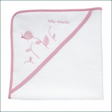 Chicco Asciugamano Neonato Tenera Lumachina 0M+, Bianco