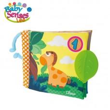 Chicco Gioco Baby Senses Libro 123, Libretto Morbido In Tessuto Per Bambini Con Tante Attivita