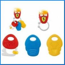 Chicco Gioco Chiavi Elettroniche Ferrari, Trillino Elettronico per Bambini, 3-24 Mesi